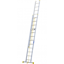 Escalera de aluminio...
