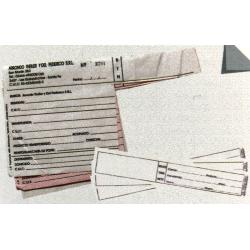 Tickets para balanza y romaneo
